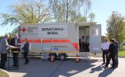 Deutsches Rotes Kreuz stellt gefördertes Beratungsmobil vor